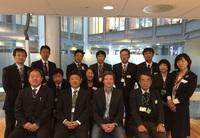 En delegasjon japanere kom til Atferdssenteret for å lære mer om PALS.