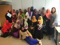 Somaliske mødre på PMTO-kurs i Harstad.