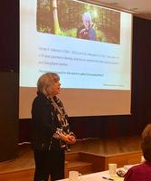 Marion Forgatch foreleser i Oslo 11. mai