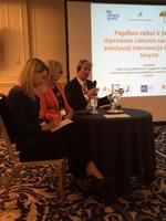 Terje Christiansen, administrerende direktør ved NUBU, diskuterte norske initiativ for å sikre barns rettigheter.