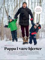 Pappa: Siste utgave av magasinet Foreldre & Barn tar for seg betydningen av fedre. Foto: Forside Foreldre & Barn