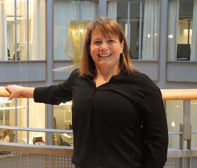 Ledende internasjonal forsker: Professor Tracy Vaillancourt er en av de ledende forskerne på feltet victimization/bullying. Foto: Kristin Horn Talgø.