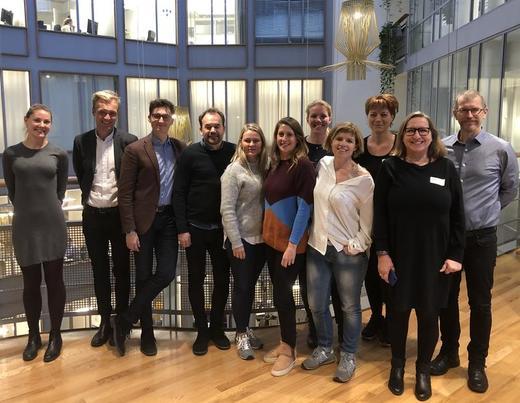 Studietur: Børneudvalget i Fredriksberg kommune i Danmark besøkte NUBU for å lære mer om NUBU sine evidensbaserte metoder og implementering. Foto: Annika Mortensen.