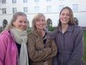 Fra venstre: Lise Maren Aaberg, Anne Lothe Brunstad (leder) og Trude Skoglund.